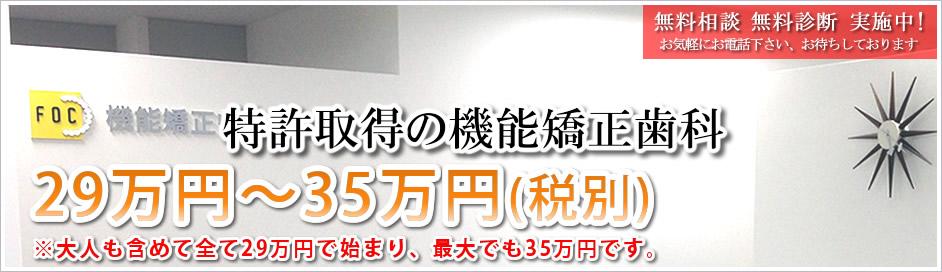 29万円〜50万円