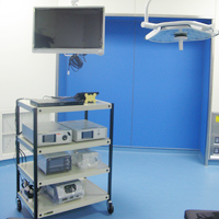 内視鏡システムとハイビジョンモニター