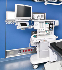GE社製一体型高性能麻酔器